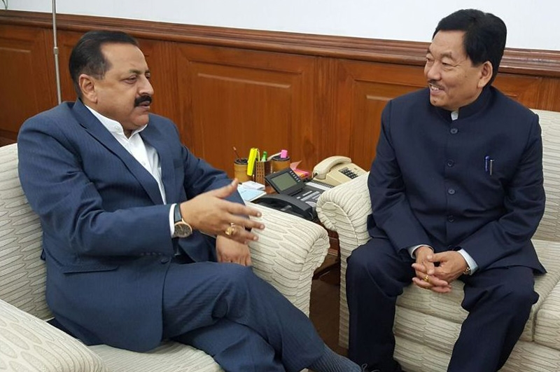DoNER Ministry committed to support major development projects in Sikkim, assures Jitendra