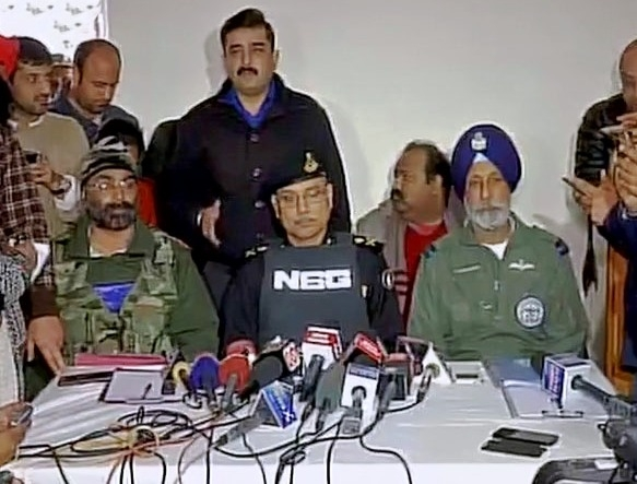 Two terrorists still holed up; all security forces working in synergized manner says NSG