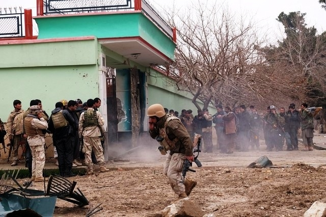 24-hour siege following the attack near India's Afghan consulate ends; all attackers gunned down