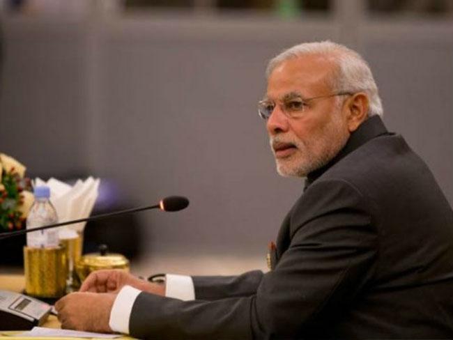 Prime Minister Narendra Modi visits Pathankot air base