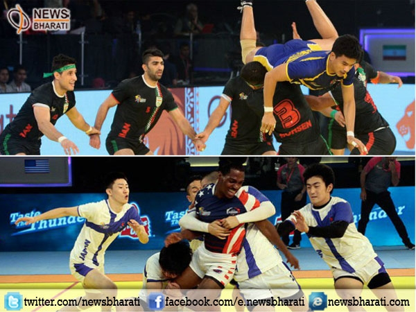 Kabaddi World Cup: Japan upsets USA by 45-19; Iran thrashes Thailand by 64-23