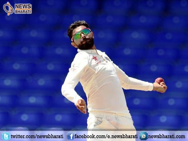 Ravindra Jadeja damages pitch during 3rd Test against New Zealand; fined 50% of match fee