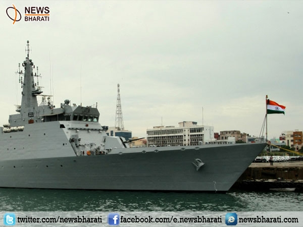 India's Patrol Vessel Sumitra reaches Surabaya; aims enhancing maritime security cooperation