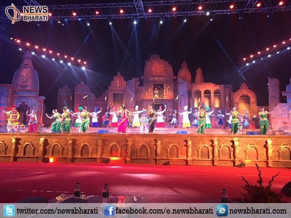 Janpath gets coloured with entertaining Rashtriya Sanskriti Mahotsav 2016