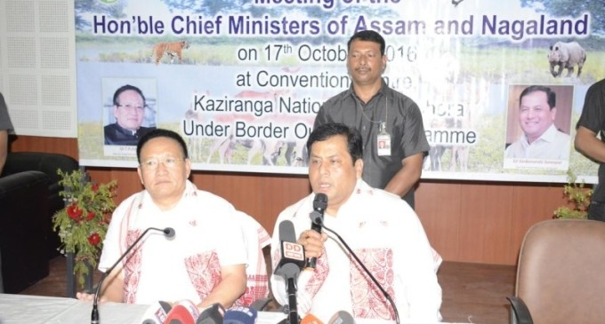Assam and Nagaland inks pact to resolve the Border Dispute