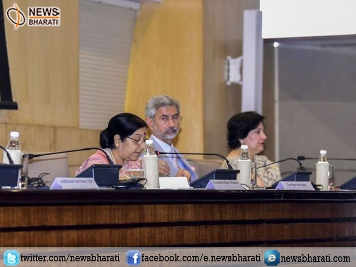 State-sponsored terrorism and state-protected terrorism is the biggest challenge says Swaraj