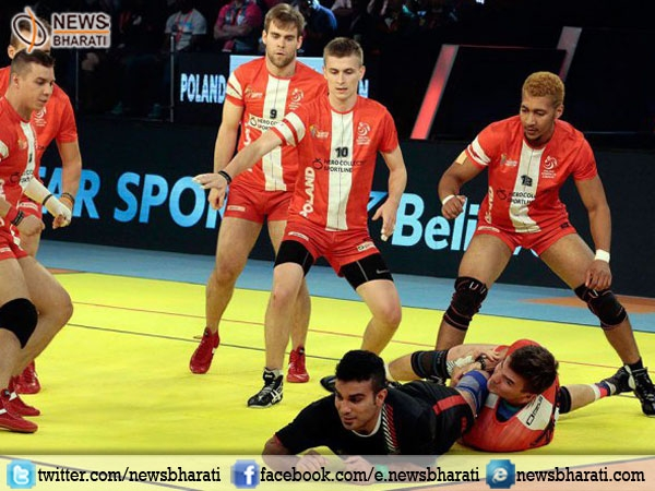 Poland brings unexpected twist to Kabaddi World Cup after defeating Iran by 41-25