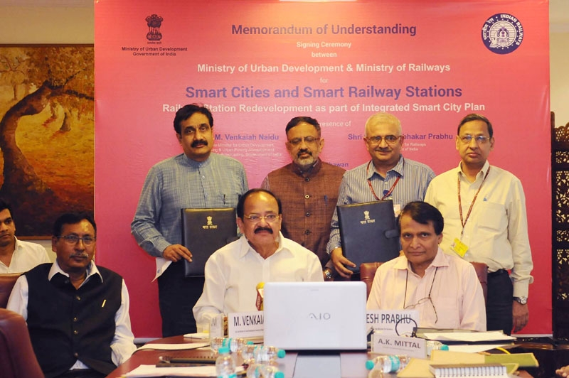 Government  to redevelop Railway stations and surrounding areas under Smart City