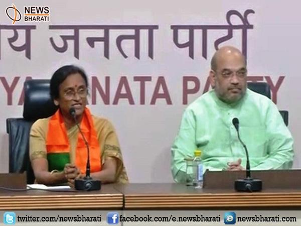 रीता बहुगुणा जोशी ने कांग्रेस को छोड़ा, भाजपा में शामिल होते ही राहुल गांधी को कोसा