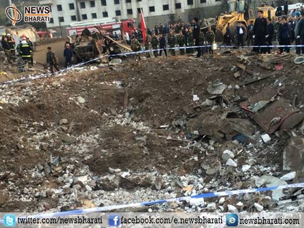 Explosion in China kills 14; more than 145 injured