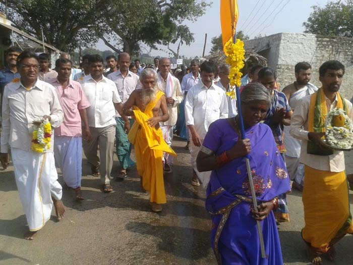 Bharat Parikrama Yatra re-enters K'taka, covers 21,300 km in 1540 days
