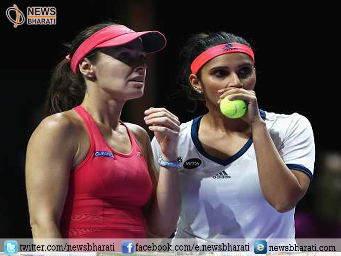 Sania-Hingis secure place in WTA semi finals post reunion