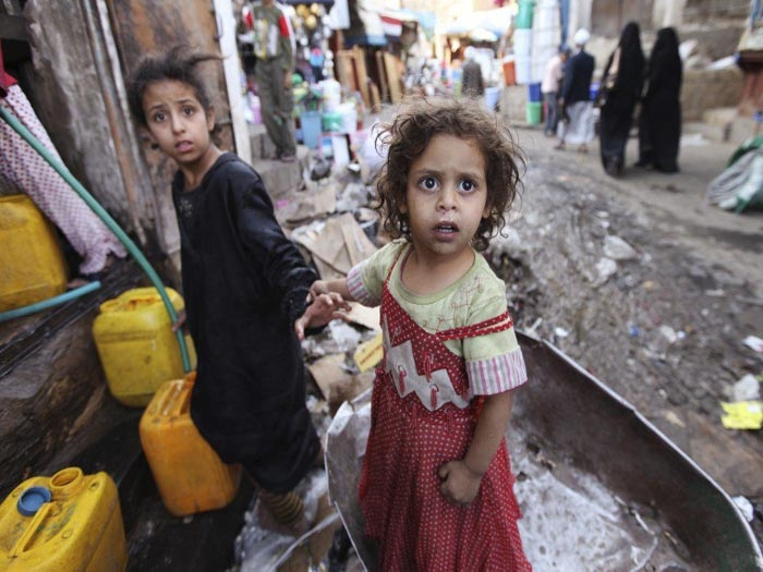 United Nations worried over 'devastating' plight of child victims in Yemen