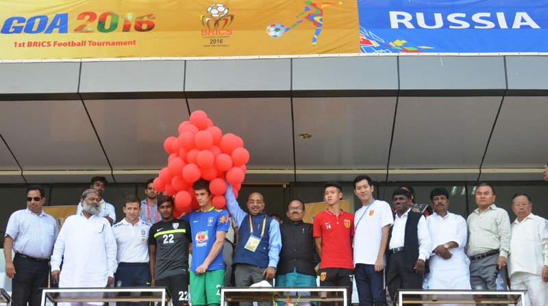 First BRICS U – 17 Football Tournament kicked off in Goa