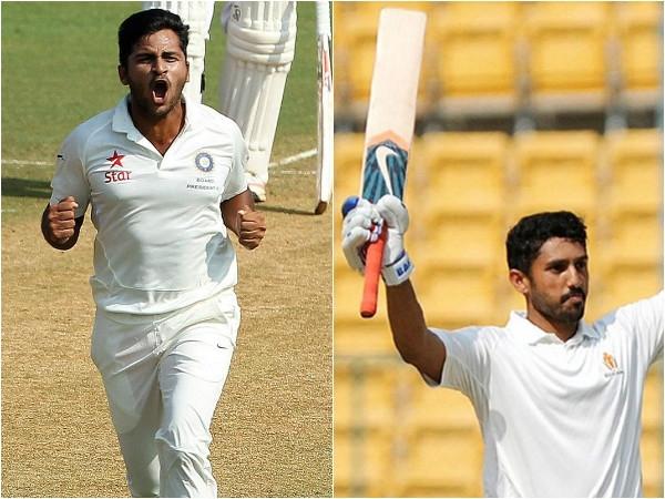 Karun Nair and Shardul Thakur replace Shikhar Dhawan & Bhuvneshwar Kumar in final Test