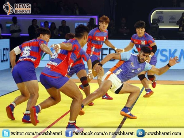 Tough opening for India at Kabaddi world cup; loses to South Korea by 34-32
