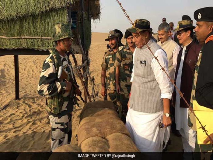 India never opens fire first, but 'won't count bullets if attacked: Rajnath