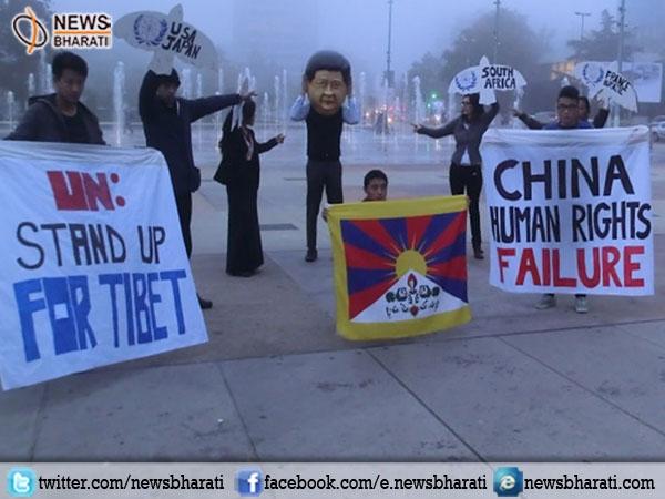 विश्व ने चीन के संयुक्त राष्ट्र मानवाधिकार परिषद में सदस्यता को मानवाधिकार के हनन के रूप में देखा