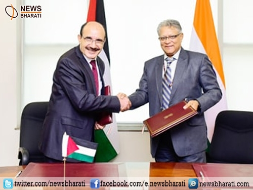 India and Palestine signs MOU for setting up Palestine-India Techno Park in Ramallah