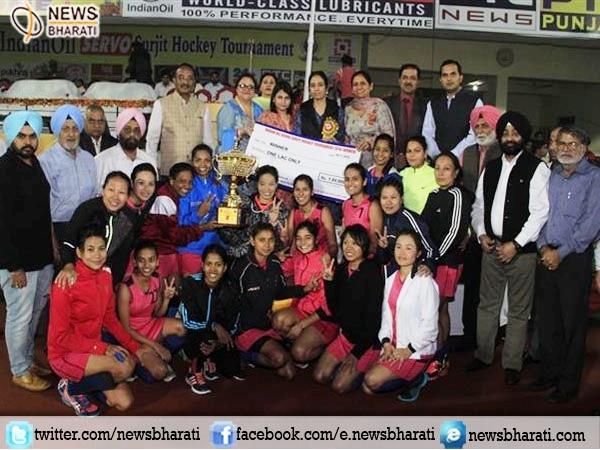 Mumbai's Western Railways women's team wins 33rd Indian Oil Servo Surjit Hockey Tournament