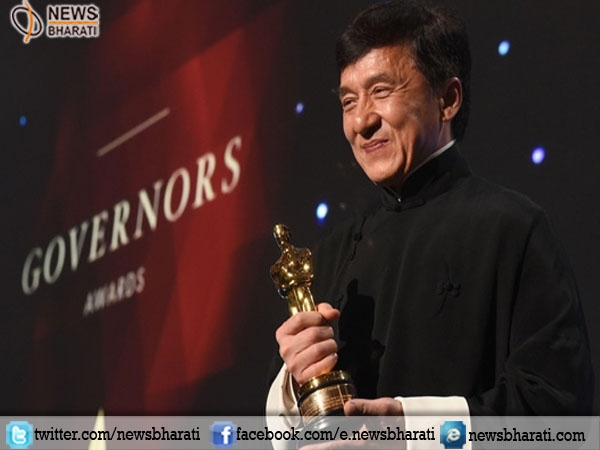 Veteran actor Jackie Chan finally wins an Oscar after five decades and 200 films