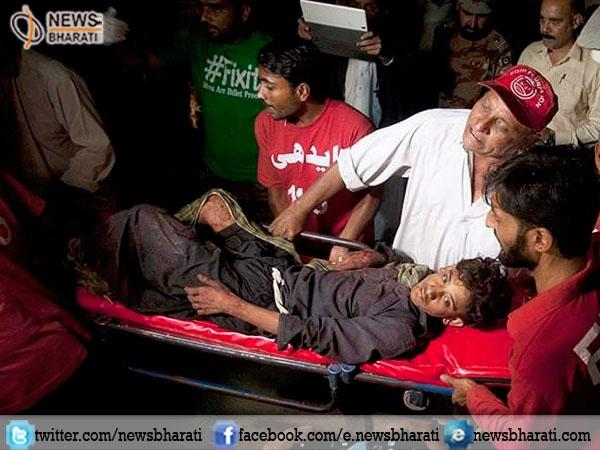 Around 52 worshippers killed, 100 injured in bomb blast at Shah Noorani shrine in Balochistan