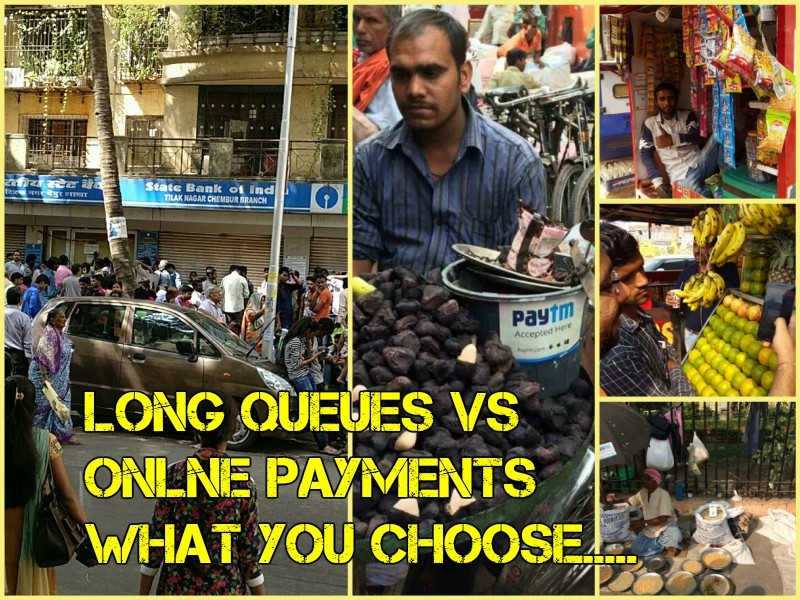 Assuring images of change in Nation: Cobblers, carpenters and street vendors shifting on digital pay-mode