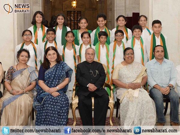 India International Trade Fair is a mega projection of new India says Prez Pranab Mukherjee