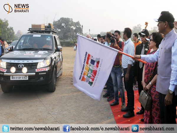 India, Myanmar &Thailand flag off Friendship Motor Car Rally to strengthen road connectivity
