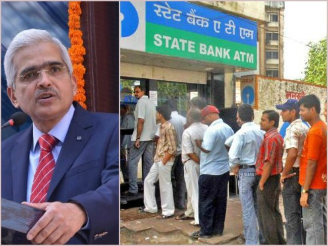 Micro ATMs, business correspondents will be used to ease #CashCrunch : Shaktikanta Das