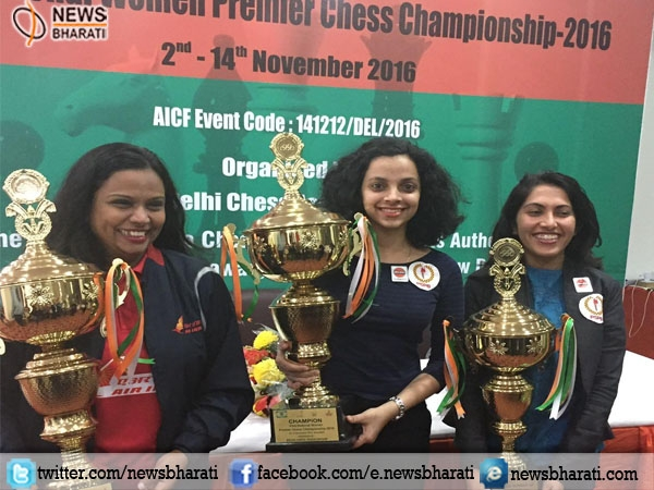 Padmini Rout scores a hat-trick in the National Women Premier Chess Championship