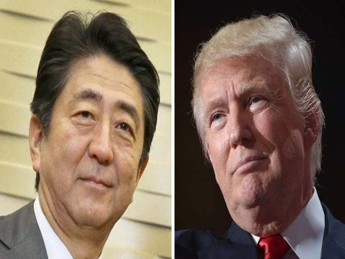 Japan's PM Abe first to meet Donald Trump on Thursday