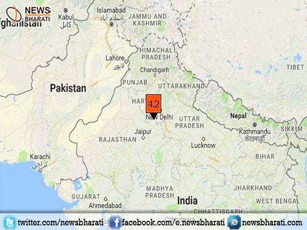 4.4 Magnitude Earthquake struck on Delhi-Harayana border