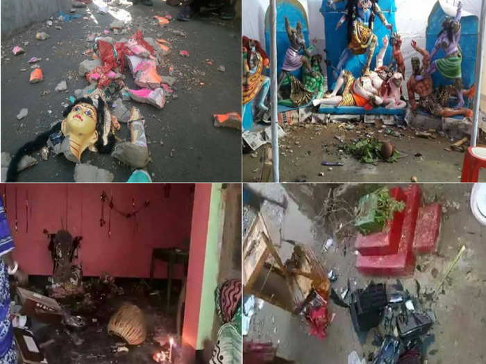 Radical Islamists attack Hindu temples, houses in Bangladesh