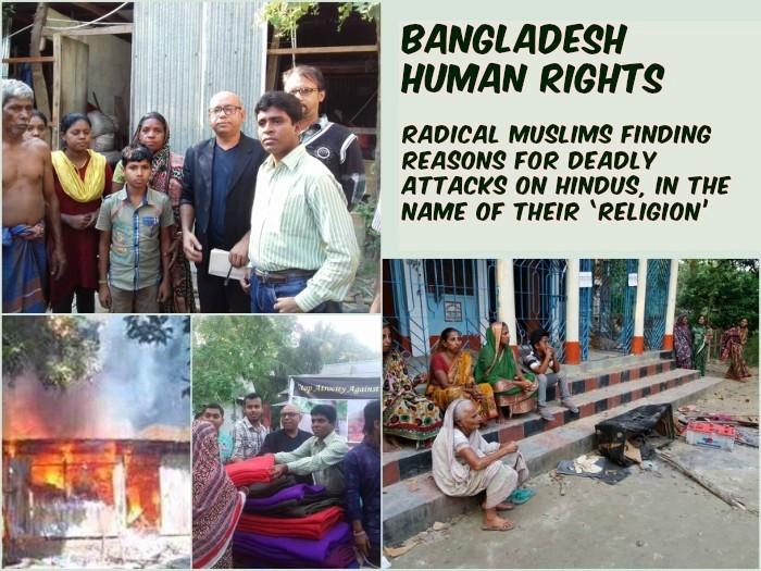 Bangladesh Human Rights: Radical Muslims finding different reasons for attacks on Hindus