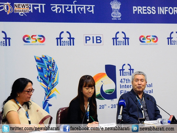 Korean writer-director Im Kwon Taek conferred with lifetime achievement award at IFFI 2016