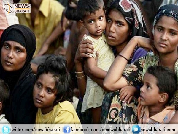 Bangladesh forces restrained Rohingya Muslims from illegally entering in their territory