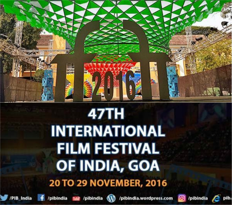 IFFI GOA 2016 begins today aims to give platform to aspiring filmmakers