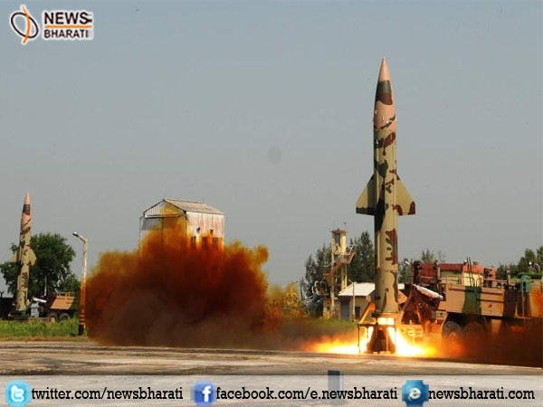 India successfully conducts the twin trial of new nuclear capable Prithvi-II missile in Odisha
