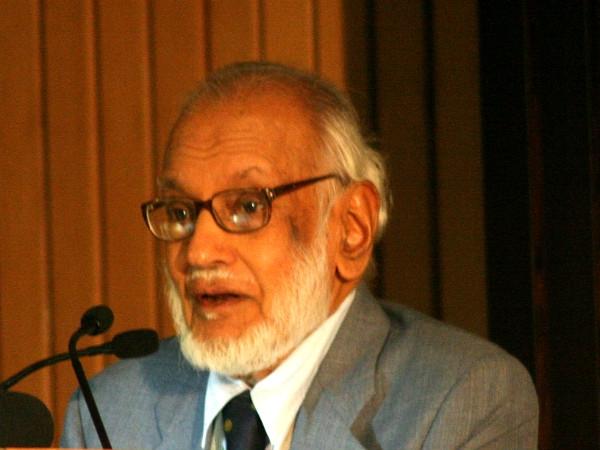 Legendary physicist & ex-ISRO chief M.G.K. Menon bids goodbye