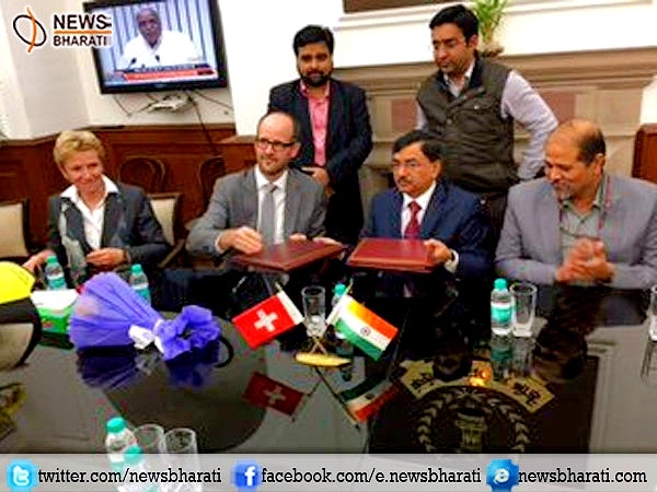India-Switzerland signs information exchange deal; a step further towards battling black money