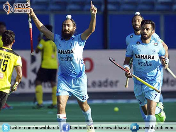 India's marvelous play against Malaysia bags 4-2 win at 1st match of 4 nations hockey tournament