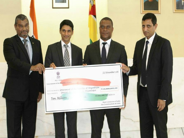 India grants 10 million USD to Mozambique as drought aid