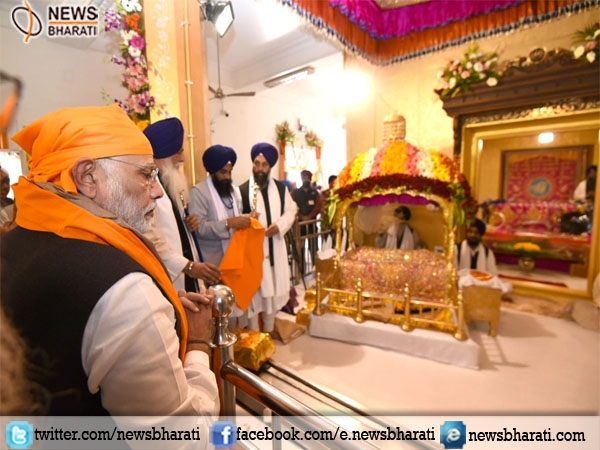 Prime Minister Modi offers prayers at Anandpur Sahib Gurudwara