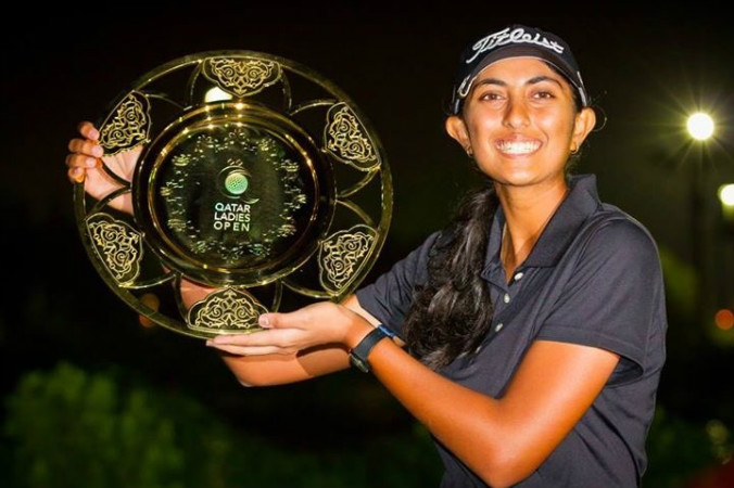 Teenage golf sensation Aditi Ashok wins Qatar Ladies Open title