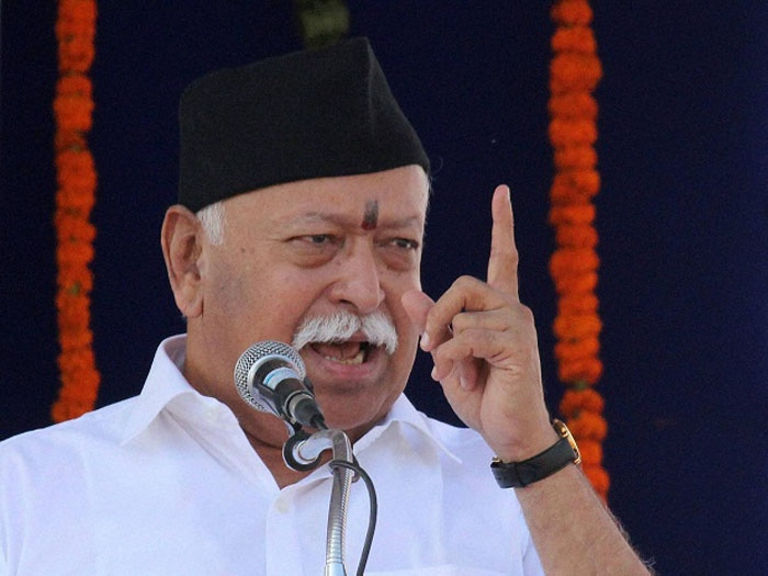 Country will adopt RSS' vision of development of humanity: Bhagwat
