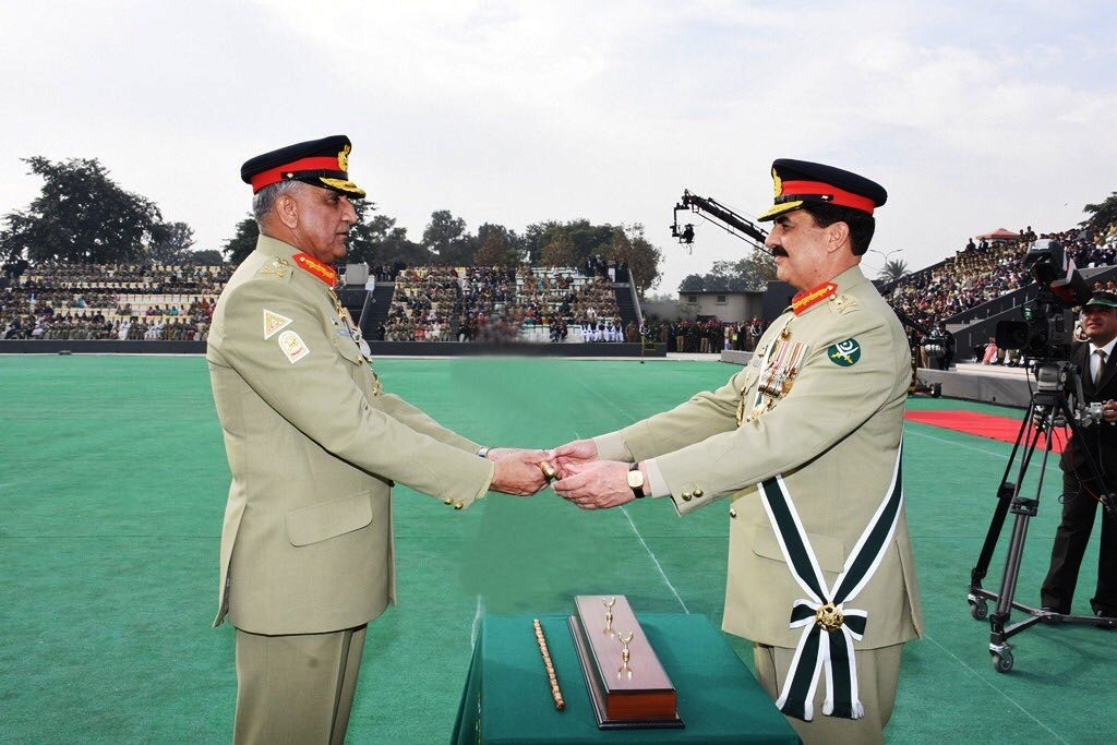 General Qamar Bajwa takes over as Pakistan's new army chief