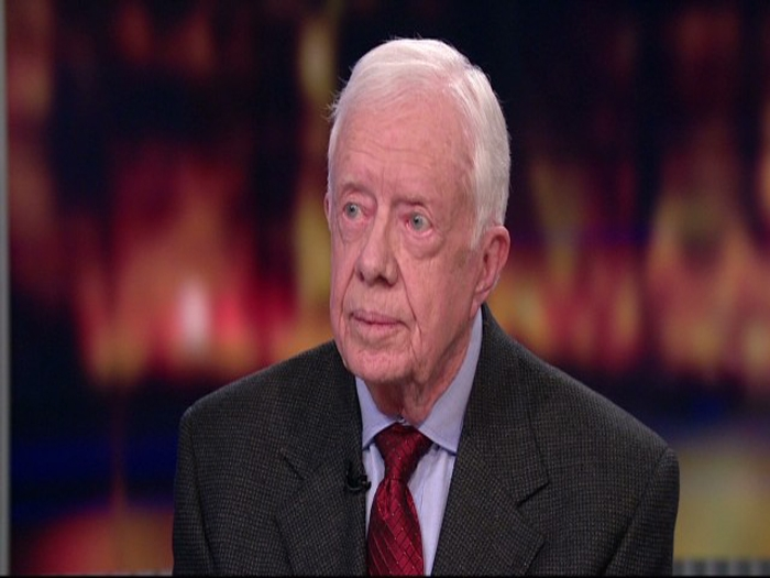 Recognize Palestinian state, Jimmy Carter urges Obama admn
