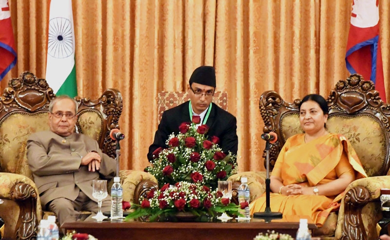 Destinies of India and Nepal interlinked; we have vital stake in each other's prosperity says Prez