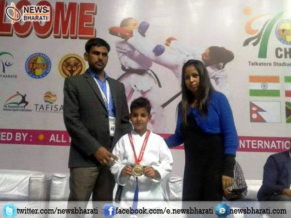 7-year-old Kashmiri boy wins gold in Asian Karate Championships